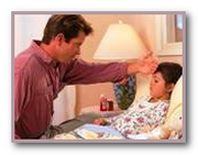 Что делать если заболел ребенок